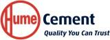Hume Cement logo with Hume tag line